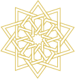 Light Gold Star Symbol
